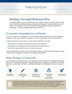 thumbnail of Building a Successful Retirement Plan CS BL